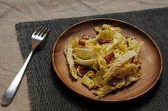 Napa Cabbage with Hot Bacon Dressing