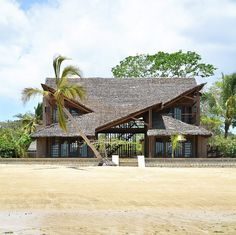 ethnic themes at play ~ under the sails residence by SCEG sits on the shores of a madagascan island