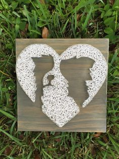 MADE TO ORDER Border Collie String Art Wooden Board