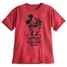 Mickey Mouse Moustache Tee for Men