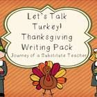 This 17 page Thanksgiving pack is full of writing activities! And it's printer friendly! Writing prompts and templates come in both lined and dotte...