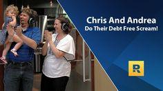 Chris and Andrea Do Their Debt Free Scream!