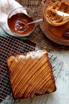 Gingerbread Cake with Speculoos and Dark Chocolate by joy the baker, possible Christmas dessert