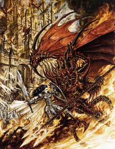 Olivier Ledroit screenshots, images and pictures - Comic Vine Comic Book Artists, Comic Artist, Comic Books, Dark Fantasy Art, Sci Fi Fantasy, Requiem Chevalier Vampire, Dragons, Fantasy Races, Metal Magazine