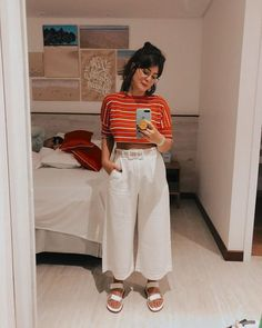 Work from home style Cute Casual Outfits, Stylish Outfits, Pantalon Large, Fall Fashion Outfits, Modest Fashion, 90s Fashion, Korean Fashion, Winter Fashion, Fashion Trends