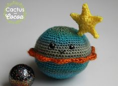 Some of my favorite things to make are amigurumi – who doesn't love these adorable little creatures with happy faces! The Planet Buddy came about after I decided to make something for m…