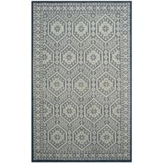 Safavieh Paseo Hand-Knotted Blue Wool Rug (9' x 12')