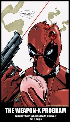 Deadpool vs Horsefly Too by KR-Whalen on deviantART
