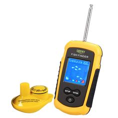 (48.97$)  Watch more here - http://ai35f.worlditems.win/all/product.php?id=32798917923 - Lucky FFCW1108-1 Portable Fish Finder Echo Sounder 120m Wireless Fish Finder Alarm 40M/130FT Sonar Depth Ocean River fishfinder