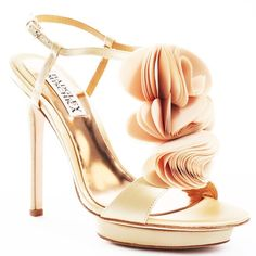 """Badgley Mischka """"Randee"""" shoe Brand new Badgley Mischka """"Randee"""" shoes! NWT....Regularly priced $215. Also selling a brand new (NWT) pair in black...perfect for weddings! Badgley Mischka Shoes Heels"""