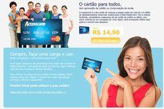 Acesso Card - Cartão de crédito pré pago