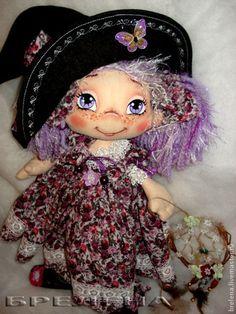 Купить Текстильная кукла Домовушка Синеглазка Дашенька. - кукла, текстильная…