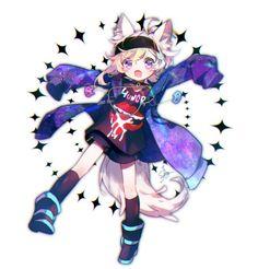 lol okay now I want to play this Anime Wolf, Anime Comics, Anime Kunst, Anime Art, Neko, Werewolf Games, The Wolf Game, Wolf Kids, Anime Boy Sketch