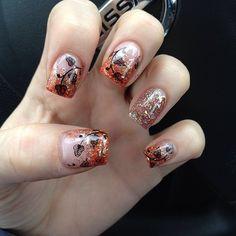 fall nail designs | 60 Fall Inspired Nail Designs: Leaves, Owls, Pumpkins + More! « Read ...