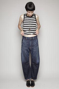 Y's by Yohji Yamamoto jeans