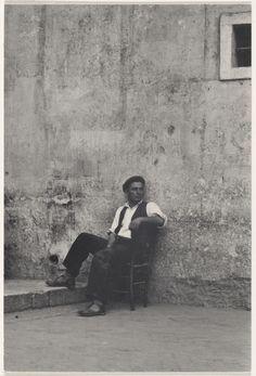 Street Portrait, Luzzara, Italy (1953). Paul Strand