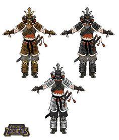 Savage Samurai Concepts