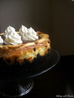 Baking with Blondie : Chocolate Chip Cookie Dough Cheesecake with Oreo Crumble Crust and Chocolate Ganache