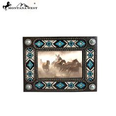 Black Texture Resin Photo Frame