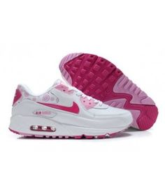 cheap for discount ee32a 347be Nike Air Max 90 White Pink Womens Female style shoes, very light weight.  There is a strong breathable, the overall design is also very good.