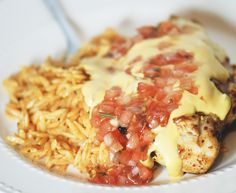 Smothered Queso Chicken