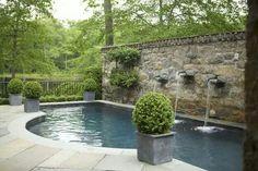 Fuente patio
