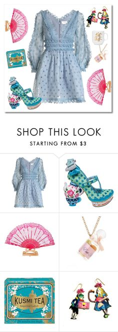 """""""Doll house"""" by andra-andu on Polyvore featuring Zimmermann, Irregular Choice and Kusmi Tea"""