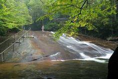 Sliding Rock Falls (NC)