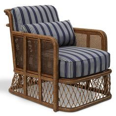 Indian Cove Lodge Wicker Club Chair - Chairs / Ottomans - Furniture - Products - Ralph Lauren Home - RalphLaurenHome.com