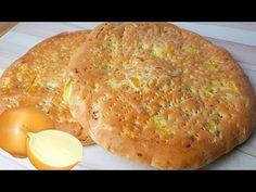 NAN PIYAZI   نان پیازی   Onion Bread Onion Bread, Pot Luck, Grubs, Afghanistan, Iran, Persian, Breads, Pizza, Make It Yourself