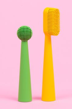 Launched on Kickstarter, the cone-shaped Benjamin Brush toothbrush was designed to help users remember to brush their teeth twice a day and for the recommended two minutes at a time.