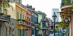 The French Quarter of New Orleans isn't just the best place to celebrate Mardi Gras or Cinco de Mayo—it's also a cobblestone masterpiece of architecture. Description from hercampus.com. I searched for this on bing.com/images