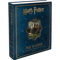 Livro - Harry Potter - Page to Screen: The Complete Filmmaking Journey