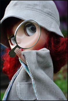 The Chic Detective por rockymountainroz en Flickr