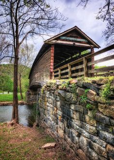 Humpback Covered Bridge, Virginia (****See Pins with other views. Old Bridges, Virginia Is For Lovers, West Virginia, Covington Virginia, Old Barns, Covered Bridges, Pathways, Architecture, Beautiful Places