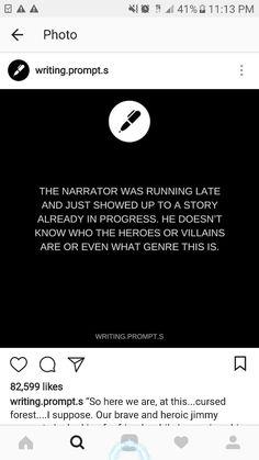 Late narrator
