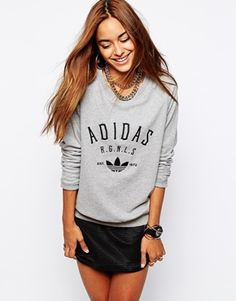 Adidas Originals Crew Neck Sweatshirt (asos.com)