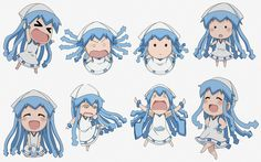 Mini Squid Girl if you watched this episode you would know who this is<<<< oh great now I'm crying