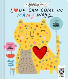 Cover image for Love can come in many ways Animals Kissing, Book Reviews For Kids, Elephant Trunk, Thing 1, Love Can, Reveal Parties, New Baby Gifts, Read Aloud, Book Club Books