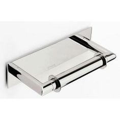 Ginger Surface Double Post Toilet Paper Holder in Polished Chrome-2808/PC at The Home Depot