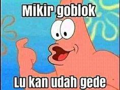 Patrick Star Funny, Patrick Meme, Cute Jokes, Cute Funny Quotes, Funny Memes, Funny Faces Pictures, Funny Profile Pictures, Cartoon Jokes, Spongebob Squarepants Meme