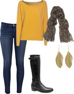 """Cute Outfit for Winter"" by kelleycd2 on Polyvore"