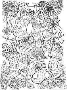 New Year coloring pages, Christmas coloring pages New Year Coloring Pages, Easter Coloring Pages, Printable Adult Coloring Pages, Coloring Pages To Print, Colouring Pages, Coloring Pages For Kids, Coloring Books, Mandala Coloring, Christmas Mandala