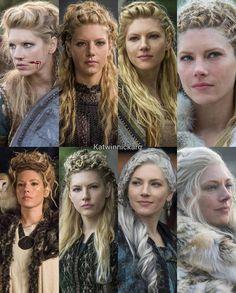 306 vind-ik-leuks, 1 opmerkingen - VIKINGS[2K] (@vikingsdizi) op Instagram: 'The most successful female warrior in the history of vikings —————————————————————————— […' Katheryn Winnick, Vikings, Game Of Thrones Characters, Crown, Female, History, Fictional Characters, Instagram, Fashion
