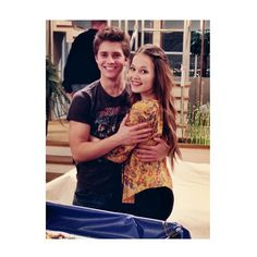 Billy Unger and Kelli Berglund, they are literally the cutest❤