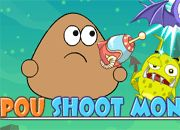 Pou Shoot Monster | Garfis juegos online