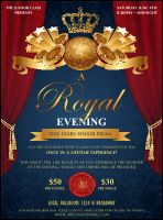 Royal Flyer from TicketPrinting.com