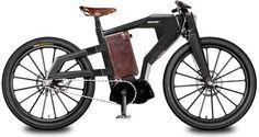 セレブ感漂う電動自転車(BLACKTRAIL) : monogocoro