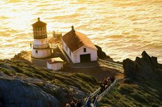 Point Reyes Lighthouse 1 by Bonnie Follett