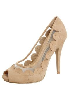 429a2206b41 French Connection Talons hauts à bout ouvert beige Neutral High Heels